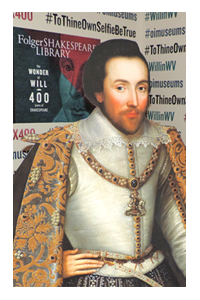 First Folio Shakespeare Selfie Station