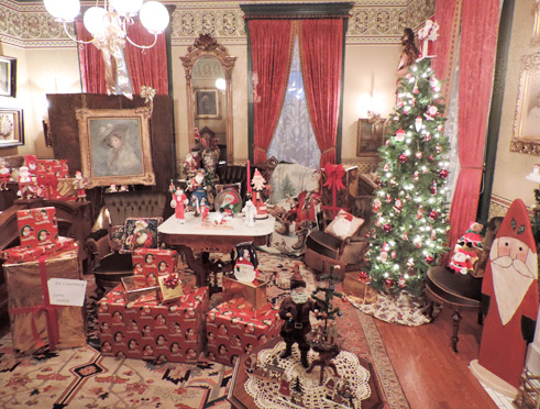 Holidays at the Mansion Museum