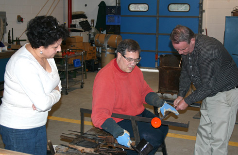 glassmaking workshop