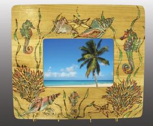 woodturning frame