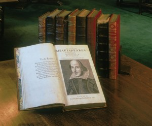 Shakespeare Library First Folio