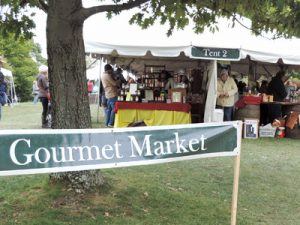 Gourmet Market at Oglebayfest