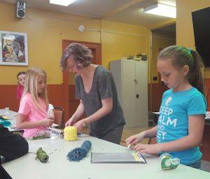 Oglebay Institute art classes for kids.