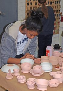 teen pottery painting