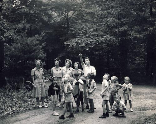 Walt Rybeck at Oglebay Institute nature day camp.