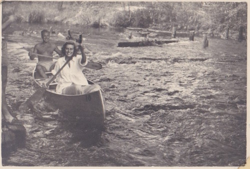 Art Rybeck and Sivia Brody met on an Egg Harbor River canoe trip in the late 1940s. Art later wooed Sivia back to Wheeling with the added attraction of Oglebay Institute's programs.