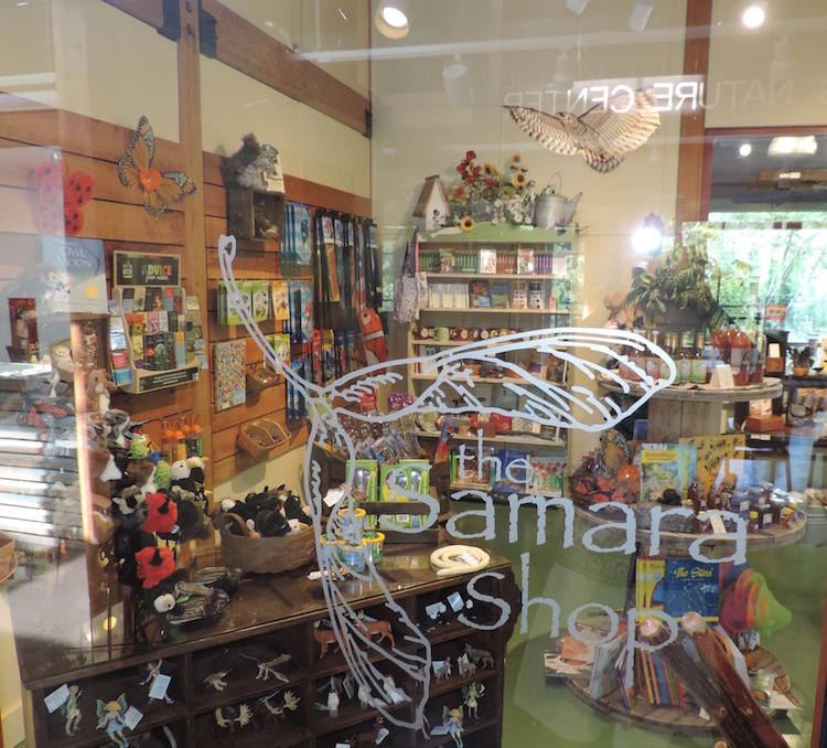 The Samara Shop features nature-themed gifts and educational items of nature lovers of all ages.