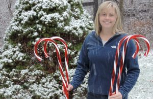 Candy Cane Hunt on the Schrader Center Nature Trails