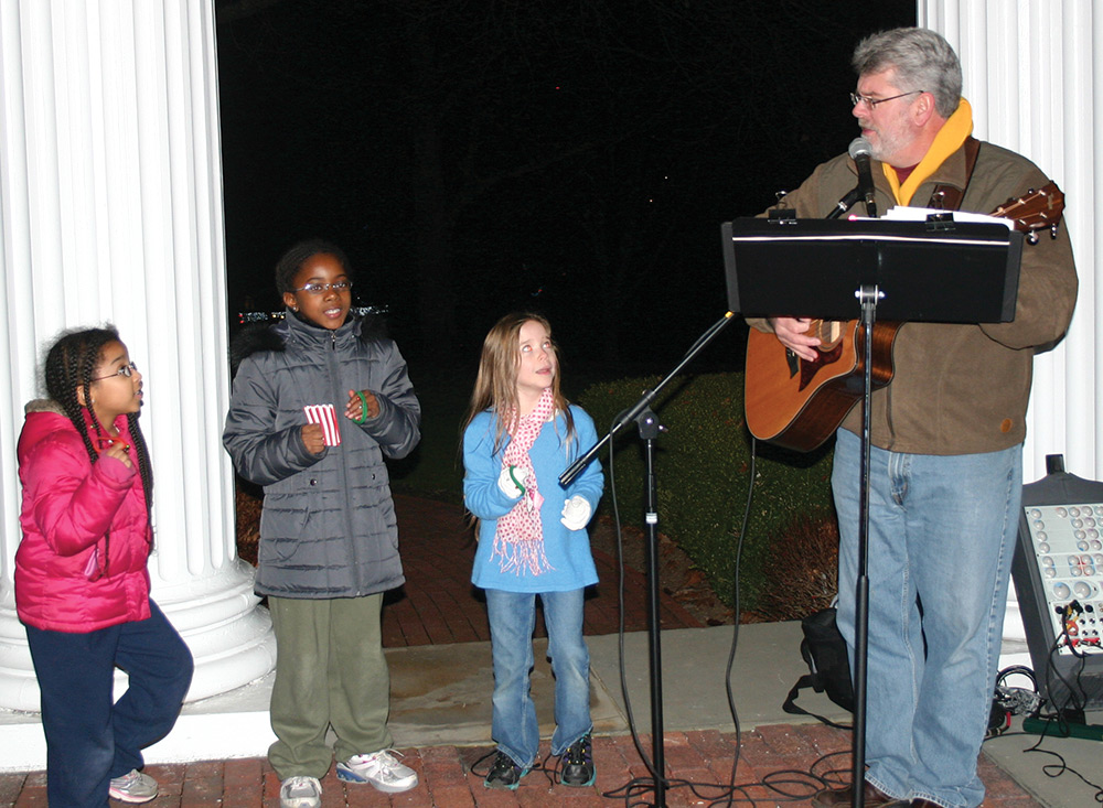 Christmas Caroling at Oglebay Institute's Mansion Museum