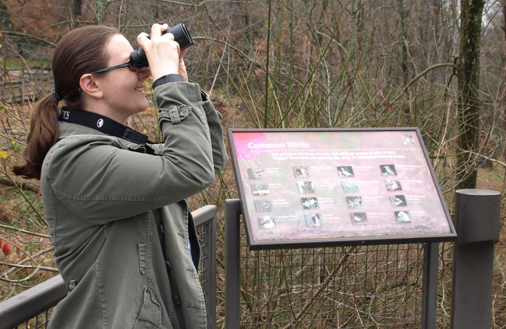 Birdwatching Hikes at the Schrader Center, Oglebay
