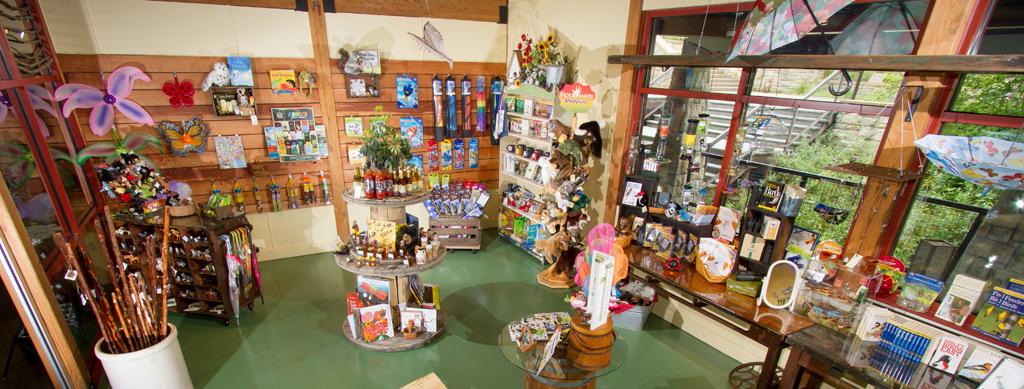 Nature-themed gifts at the Samara Shop
