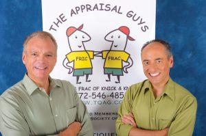 Appraisers Tim Luke and Greg Strahm