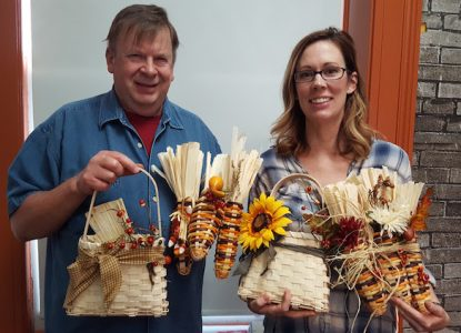 Craft Workshops at OI: Basket Weaviing