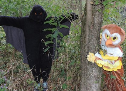 Halloween Hikes at the Schrader Center, Oglebay