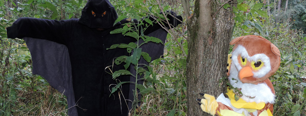 Halloween Hikes at the Schrader Center, Oglebay