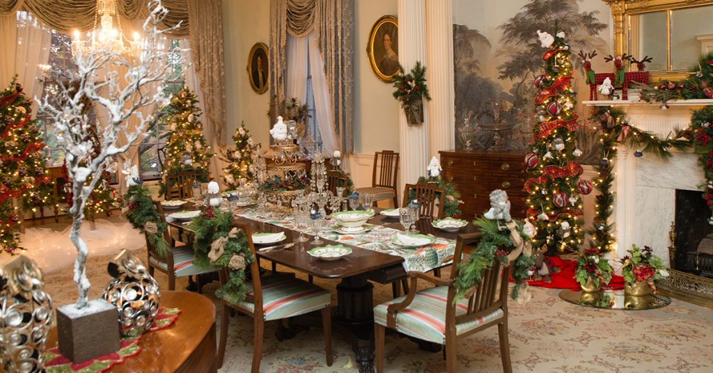 Holidays at the Mansion