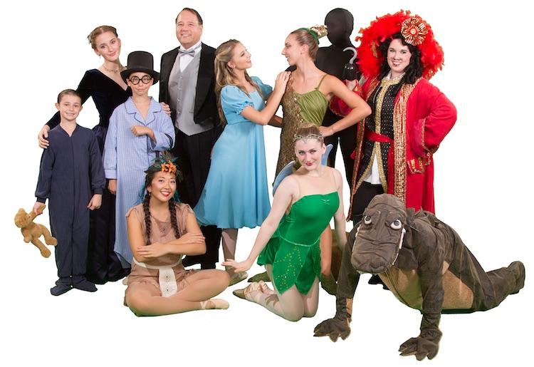 Peter Pan ballet at Towngate