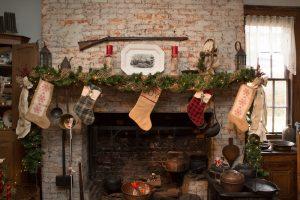 The Pioneer Kitchen in Oglebay Institue's Mansion Museum.