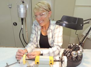 Experience the art of jewelry making at the Stifel Fine Arts Center.