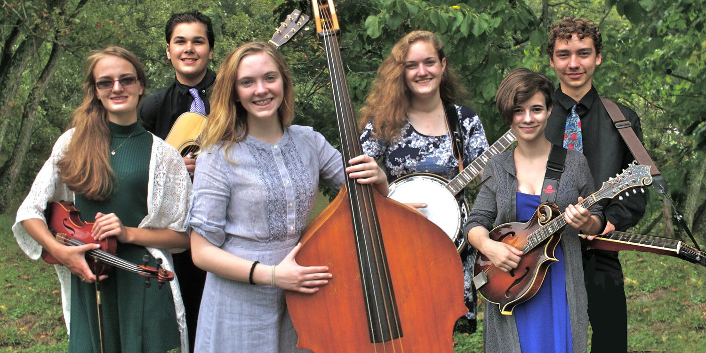 Wheeling Park High School Bluegrass Band