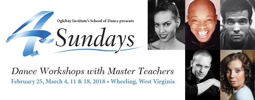 Four Sundays of Dance Workshops - Wheeling, WV
