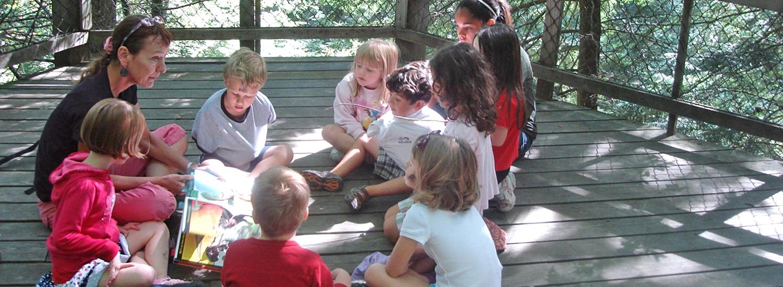 Preschool Nature Programs at Oglebay Institute's Schrader Center