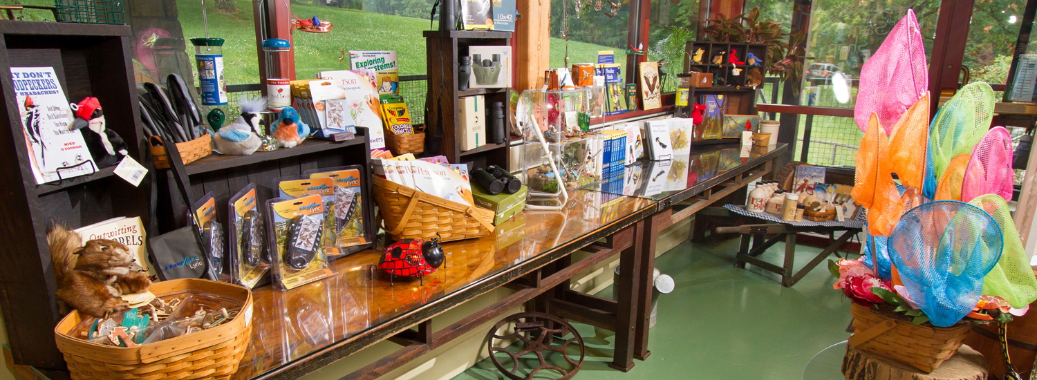 Nature-themed gifts available at the Schrader Center in Oglebay