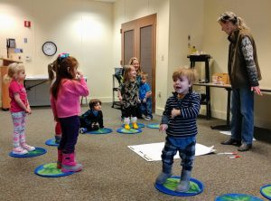 Preschools enjoy the Roots 'N Shoots program at OI's Schrader Center.