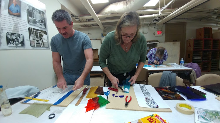 Learn to Make Stained Glass at the Stifel Fine Arts Center
