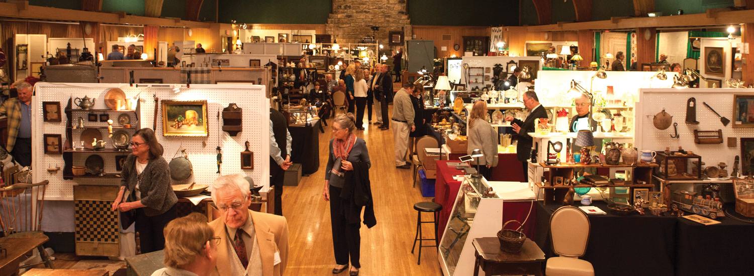 Oglebay Institute's Annual Antiques Show & Sale at Wilson Lodge