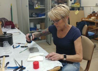 Jewery Making Classes Take Place at the Stifel Fine Arts Center in Wheeling