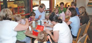Summer Pottery Painting at the Schrader Center