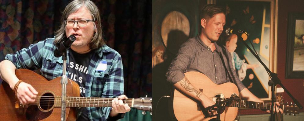 Wheeling Indie Rock Musicians Michael Iafrate and Joshua Lee