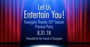 Towngate 50th Season Preview Party