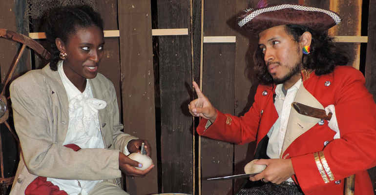 Towngate Theatre's Parcel Players present Treasure Island