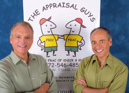 Appraisal experts Greg Strahm and Tim Luke