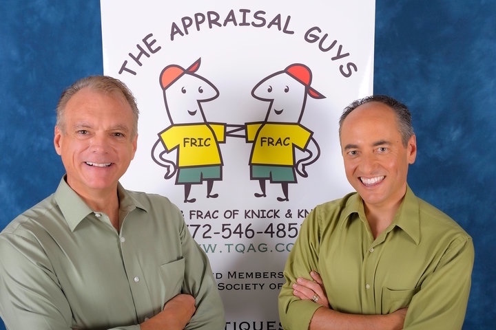 Appraisal experts Greg Strahm and Tim Luke