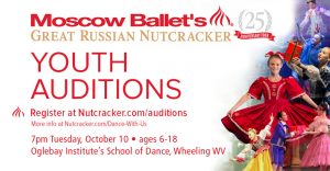 Moscow Ballet's Great Russian Nutcracker auditions