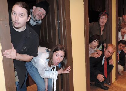 """Noises Off"" at Towngate Theater"