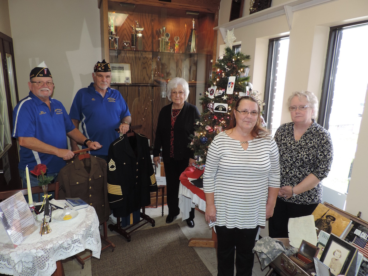 American Legion Receives Gift from OI Festival of Trees
