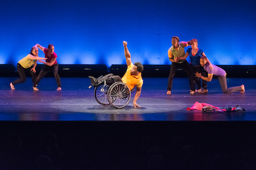 Dancing Wheels performs Going Up.