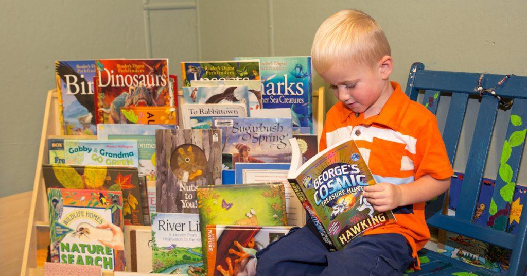 Children's Book Reading - Schrader Center