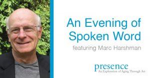 Spoken word with Marc Harshman