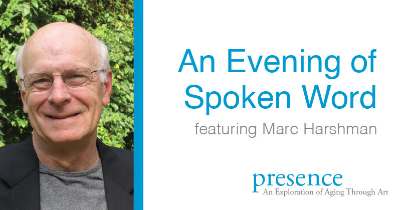 Spoken word with Marc Harshman