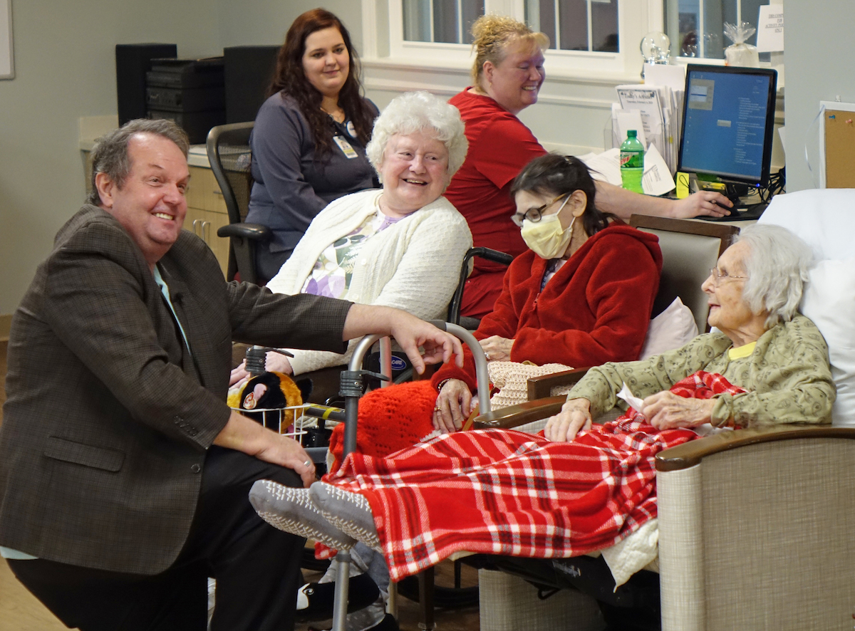 Alzheimer's Poetry Project at Wheeling Hospital